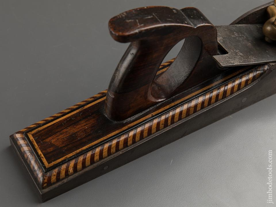 Magnificent! Rosewood & Inlay Filled 18 3/4 inch Low Angle Jointer Plane - 89334U