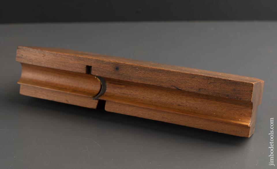 Crisp 7/8 inch Side Bead Moulding Plane by MOSELEY & SON LONDON circa 1819-30 FINE - 89381