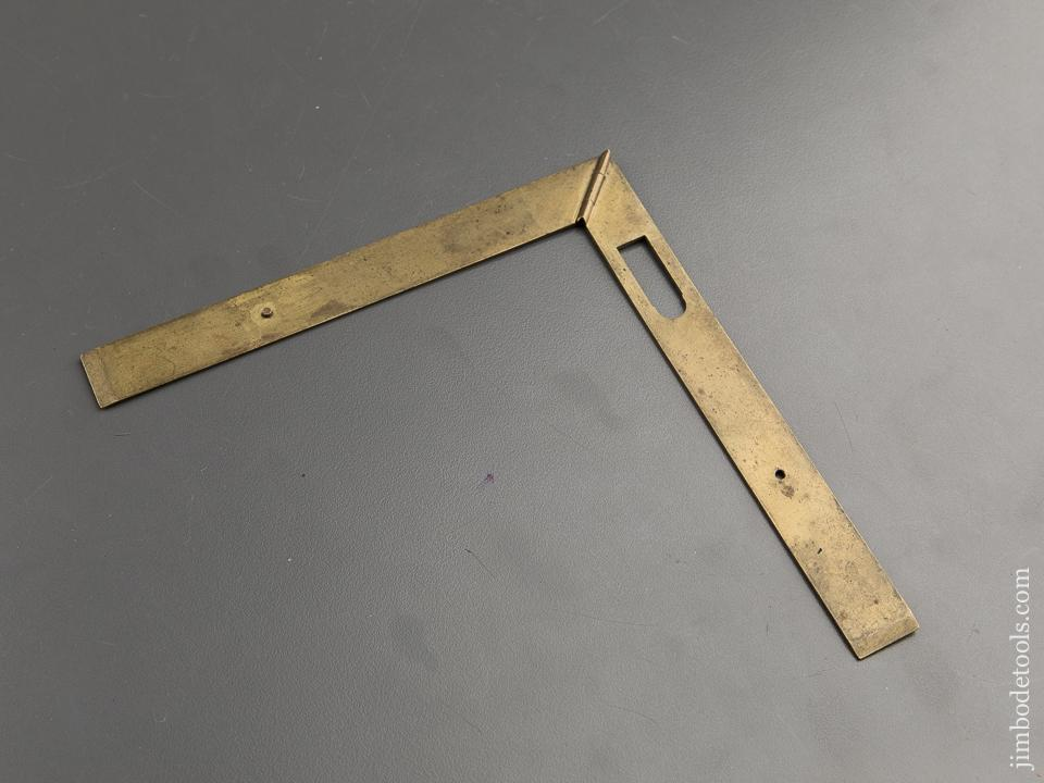 18th Century Brass French Folding Square - 89417