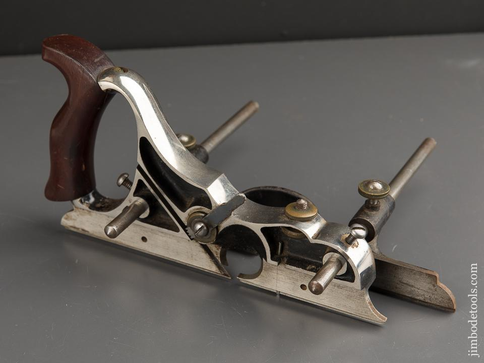 Stunning Early Model SIEGLEY Plow Plane with 16 Cutters - 89491