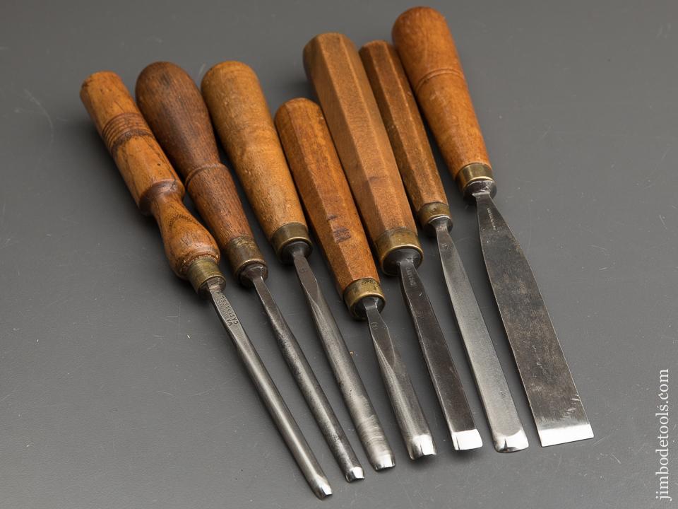 Seven Great Carving Chisels - 89527