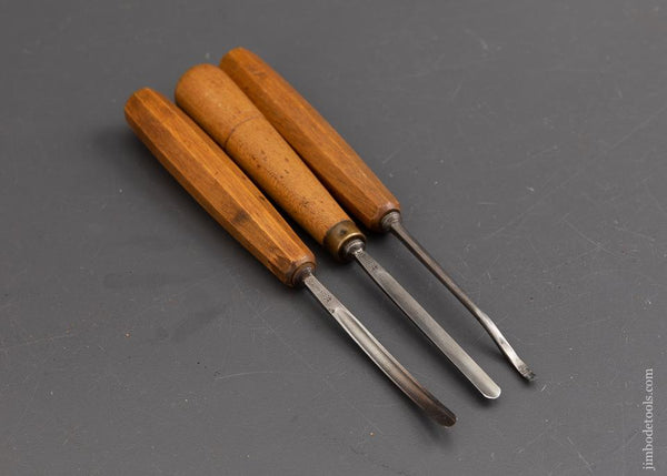 Three FINE Carving Chisels by HENKELS - 89566