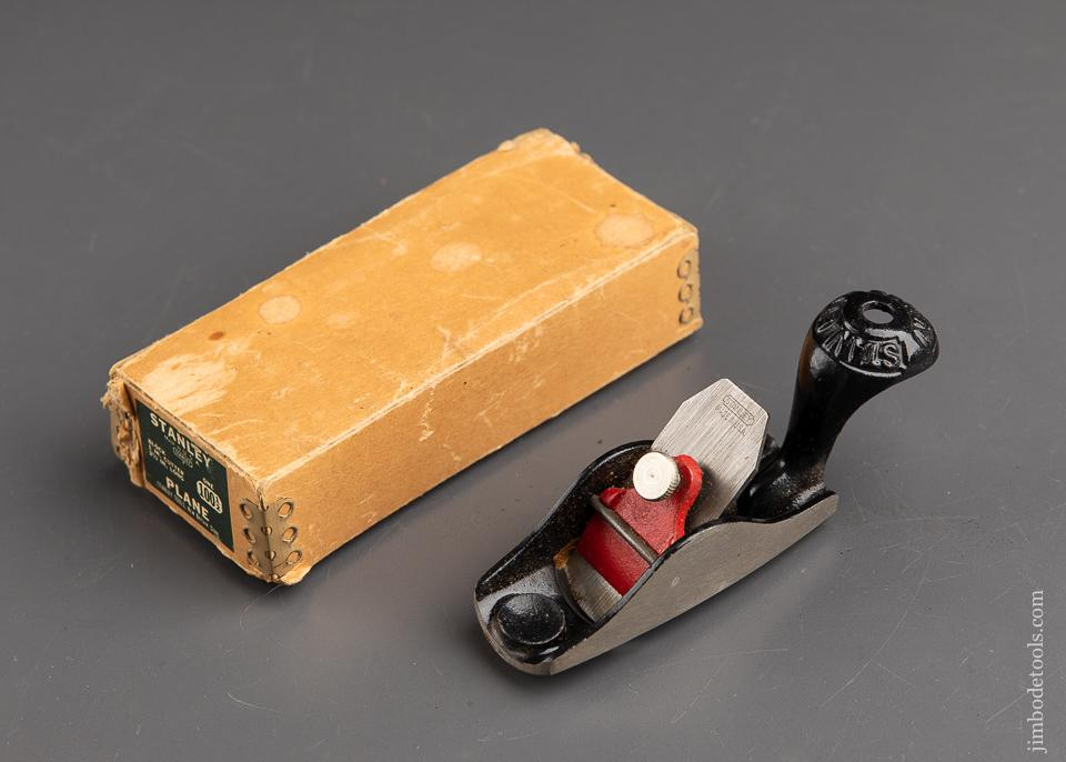 Stanley No. 100 1/2 Tail Handled Block Plane Mint In The Original Box  - 89776