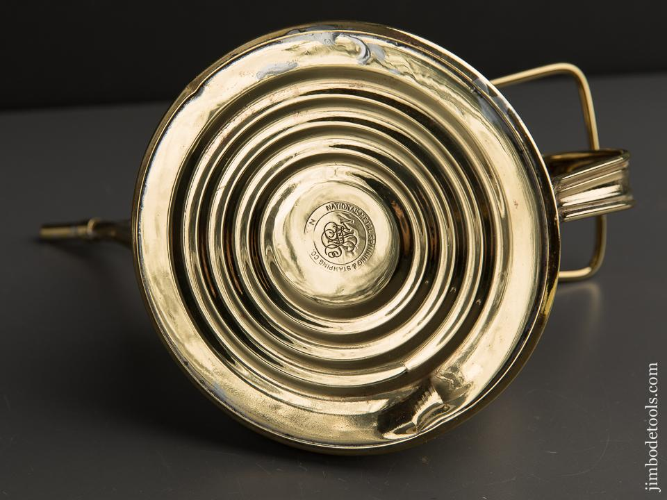 Beautiful Brass Eleven inch Oil Can - 89850U