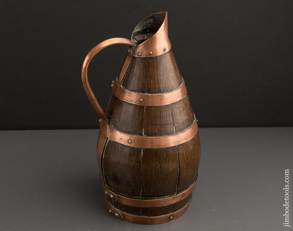 Lovely French Coopered Cider Jug - 89898