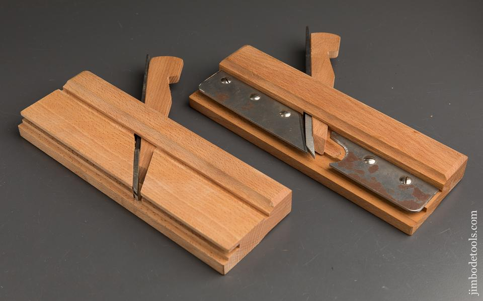 MINT Pair of ECE 12mm (1/2 inch) Tongue & Groove Planes - 90161