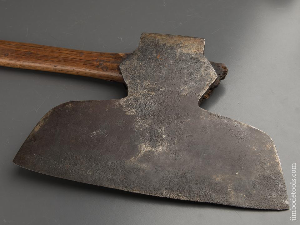 Great I. BLOOD 6 1/2 pound Offset Broad Axe - 90345