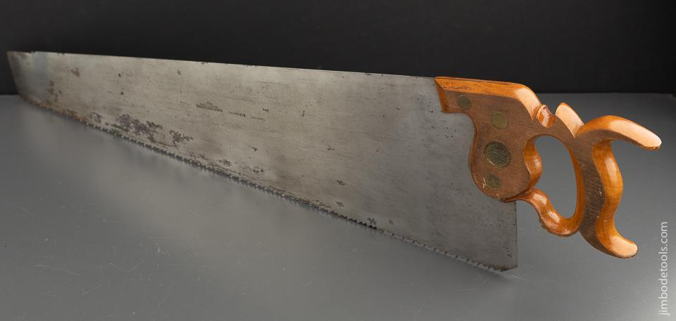 Ridiculously Fine! THOS TURNER Early Split Screw Hand Saw NEW OLD STOCK - 90603U