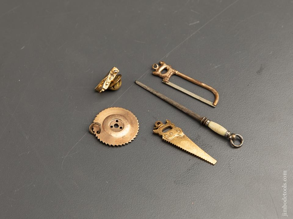 Great Set of Five Advertising Miniature Tools - 90874