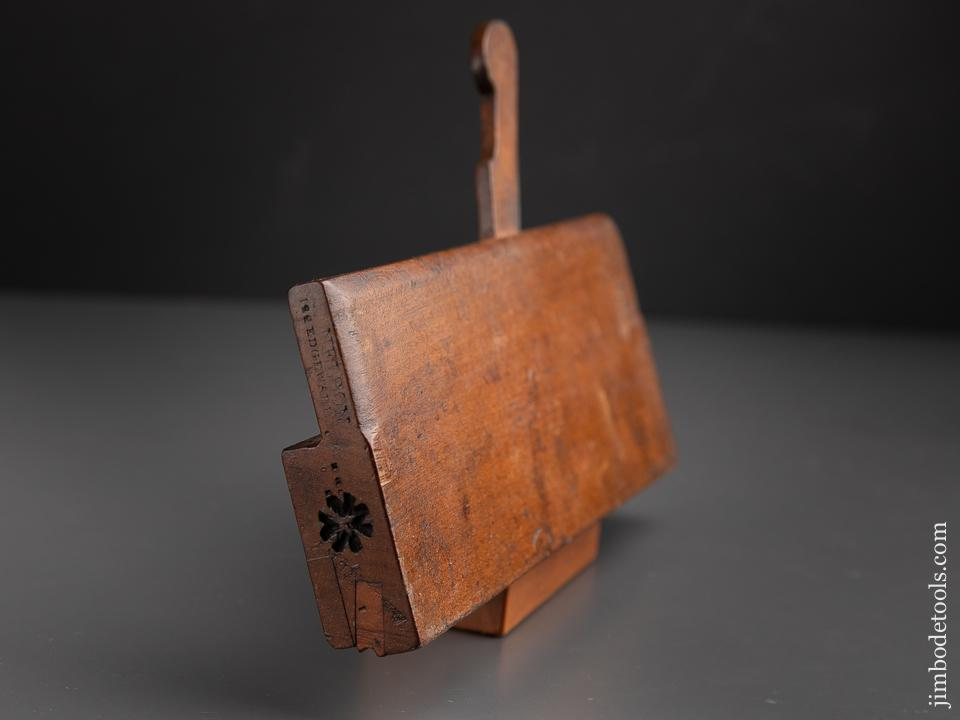 1/8 inch Side Rabbet Plane by NELSON circa 1831-82 - 91301