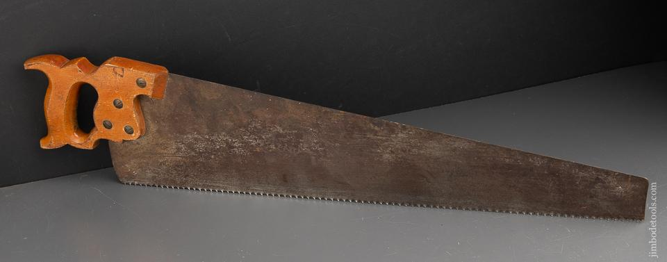 JUST SHARPENED 8 point 26 inch Crosscut DISSTON D7 Hand Saw - 91380