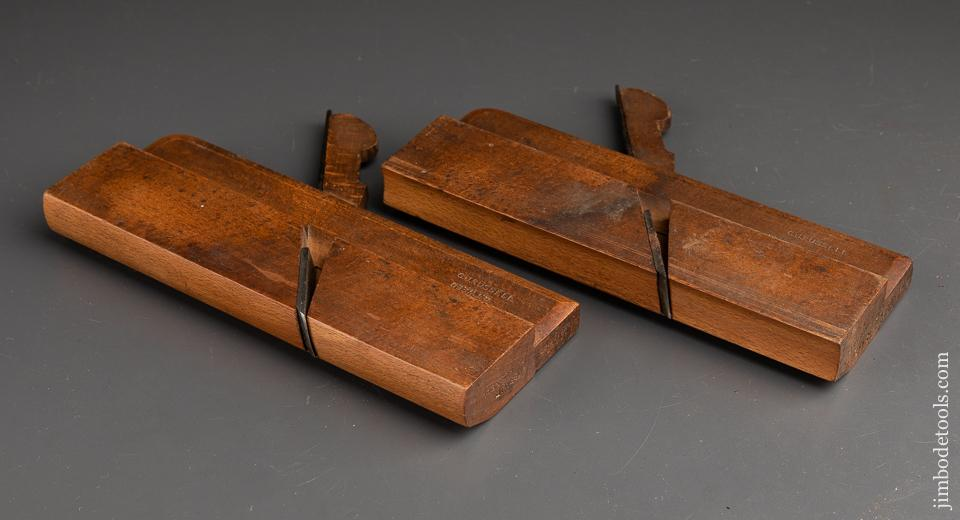 Matched Pair of No. 12 Hollow & Round Moulding Planes by GRIFFITHS NORWICH circa 1803-1958 - 91655