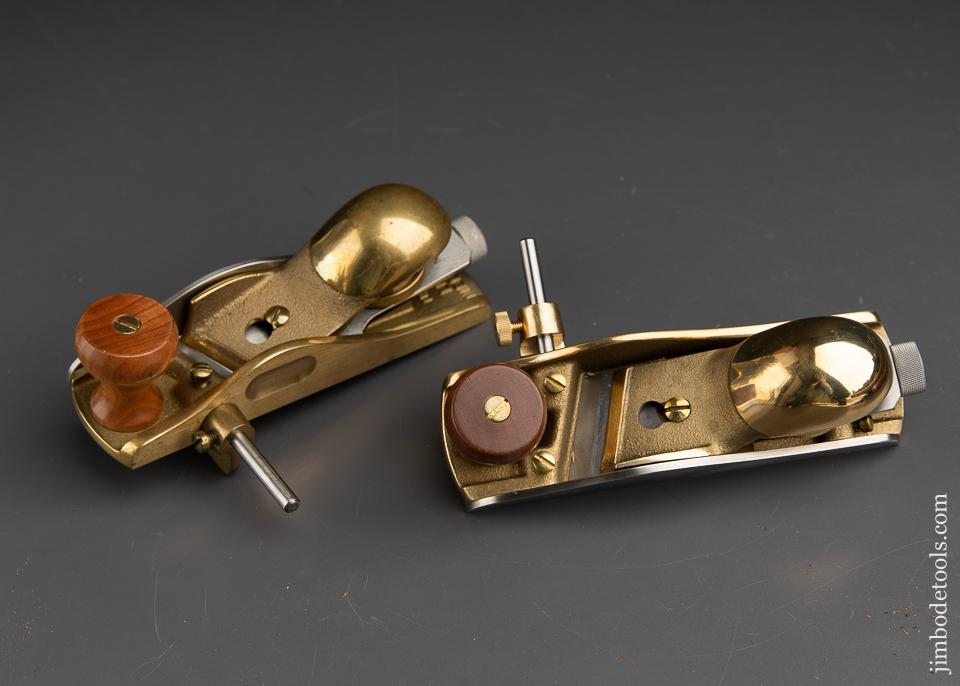 Near Mint! LIE-NIELSEN No. 140 Left & Right Skew Block Planes - 91734