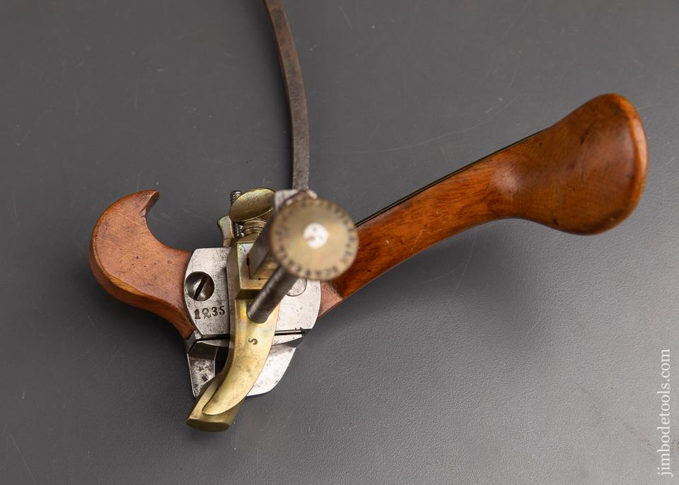 Fancy Signed Coach Maker's Plow Plane EXTRA FINE - 91933U