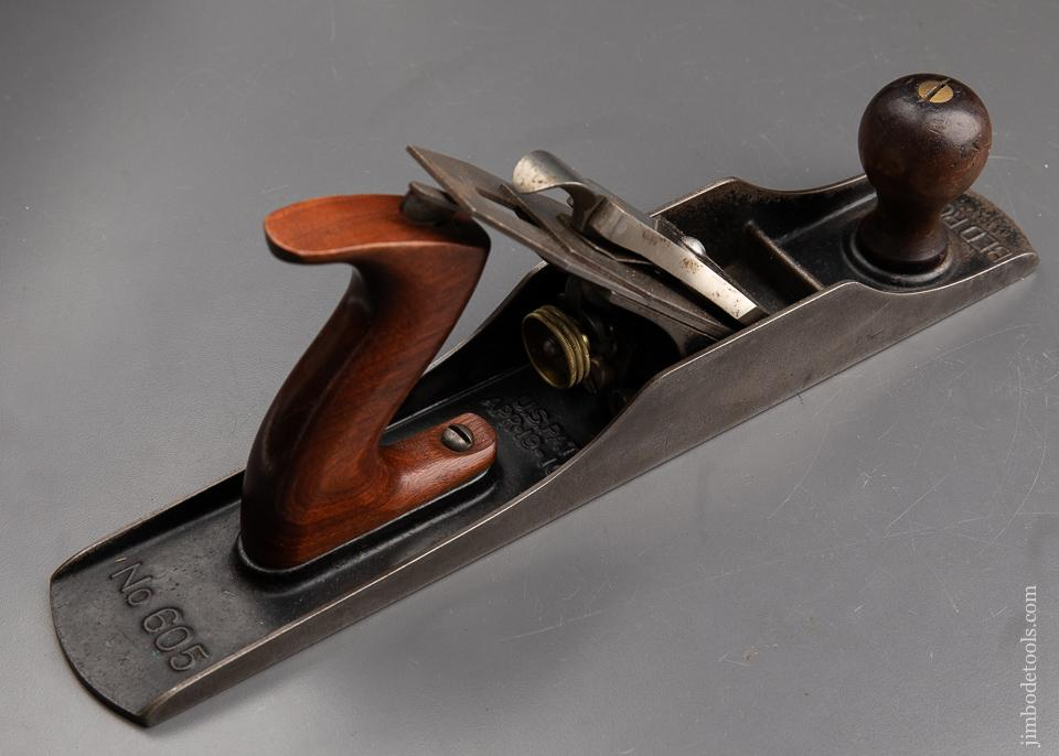 Excellent STANLEY No. 605 BEDROCK Jack Plane Type 7 circa 1923-26 SWEETHEART with Decal - 92085