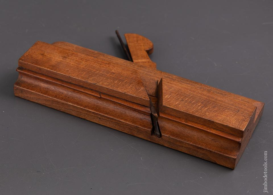 5/8 inch Side Bead Moulding Plane by KING & PEACH HULL circa 1848-64 FINE - 92554