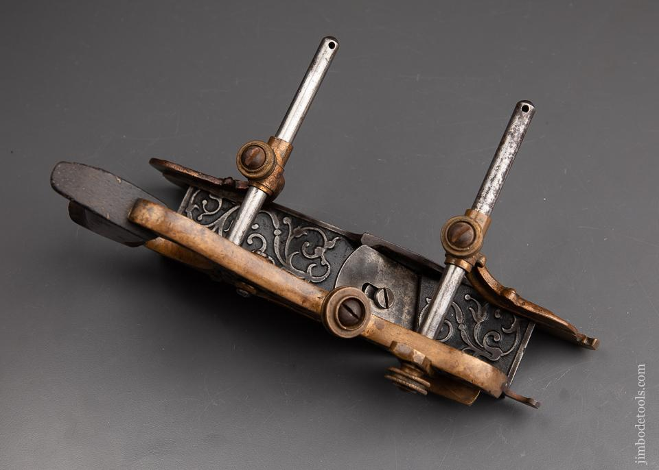 STANLEY MILLERS PATENT No. 42 Gunmetal Plow and Filletster Plane Type 3 ca. 1874 - 92812