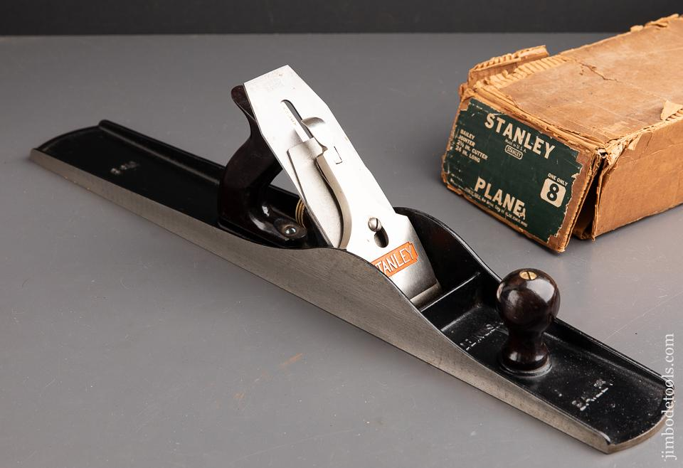 STANLEY No. 8 Fore Plane MINT in Original Box - 92885