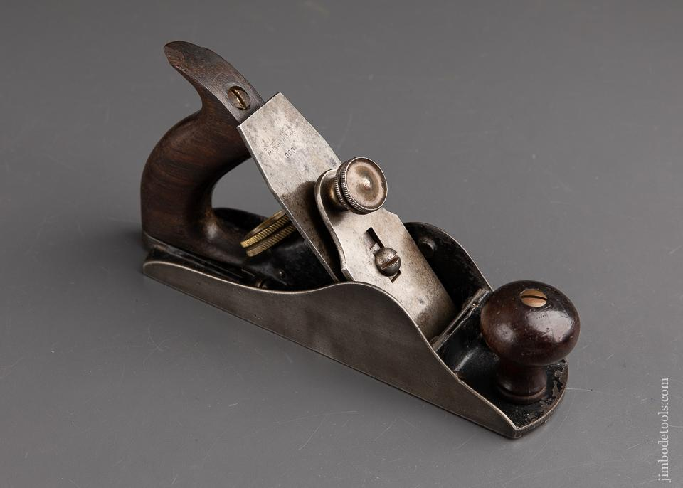 STEERS Patent No. 303 Smooth Plane with Rosewood Strips in Sole ca. 1883 - 92900