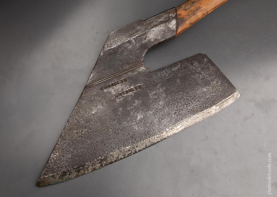 Magnificent H. STAHLER Pennsylvania Goosewing Axe - 92929U