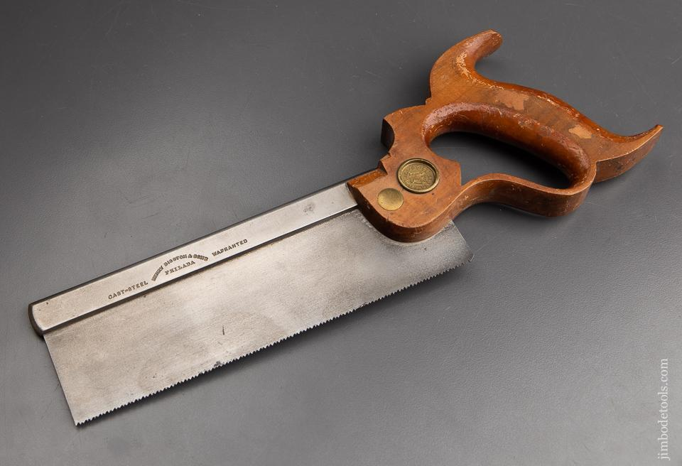 Near Mint ca. 1876 DISSTON Dovetail Saw - 92951