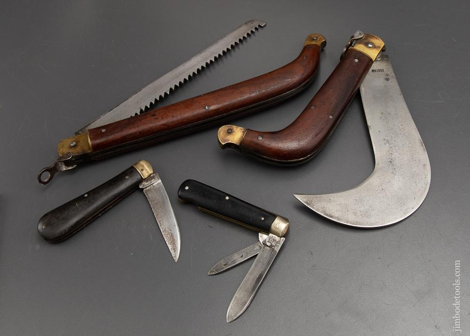 Four Lovely English Folding Knives - 93031