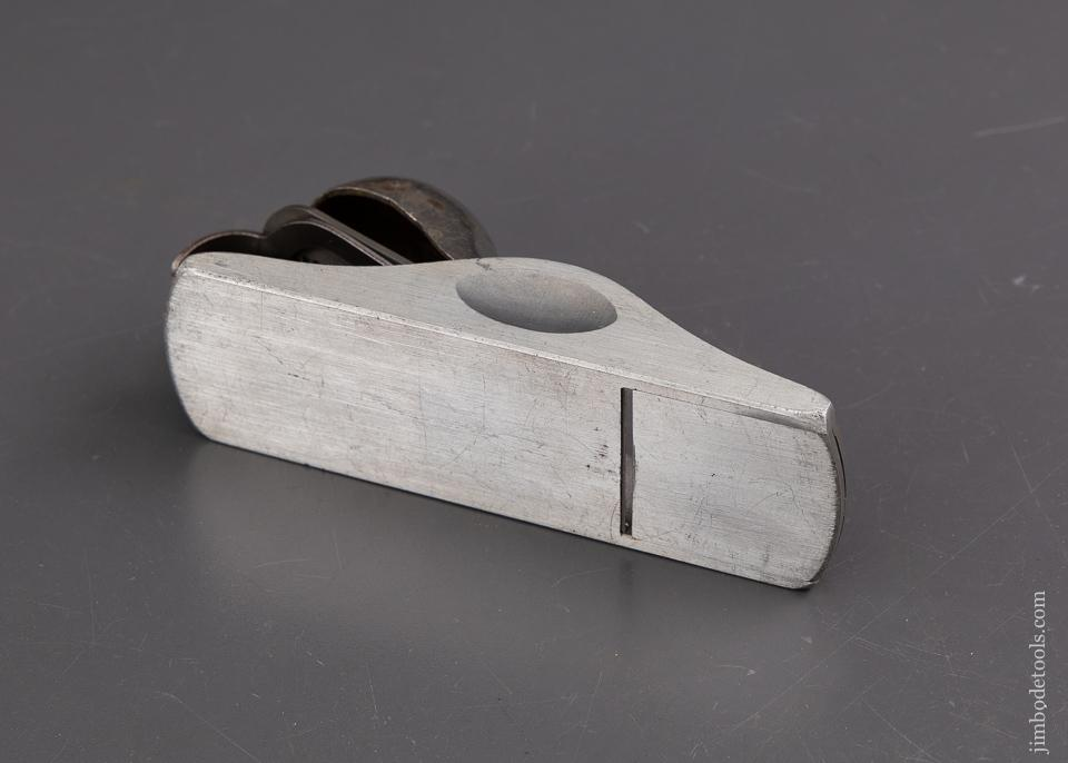 BURDICK & RICHARDS Patent February 18, 1913 STANLEY No. A18 Aluminum Knuckle Joint Block Plane SWEETHEART - 93080