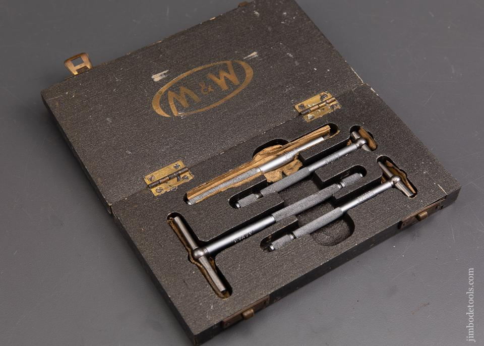 M&W Hole Gauge Set in Original Fitted Case - 93115