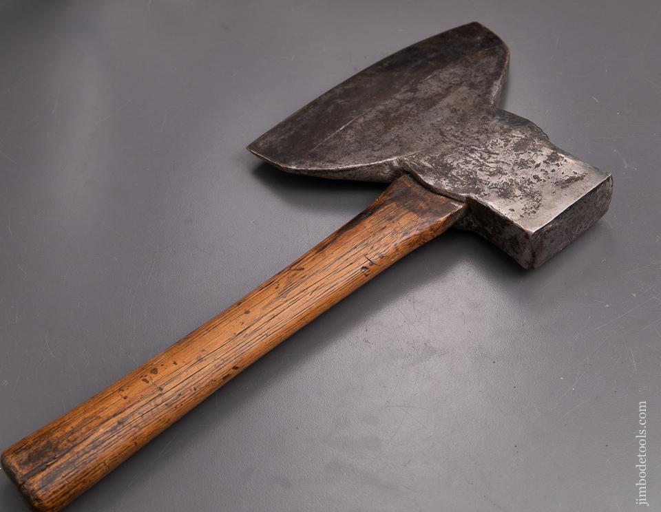 Unusual 4 1/2 pound Single Bevel Side Axe - 93206