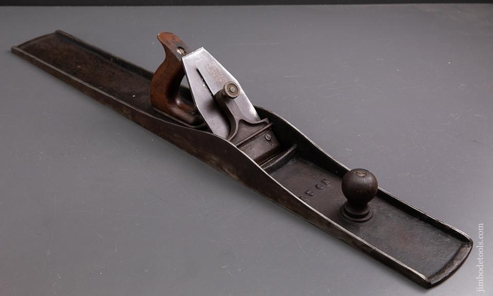 Unheard of EDWIN HAHN No. 20 (YES! No. 20) Jointer Plane 29 1/2 inch long with a 3 inch wide iron - 93248