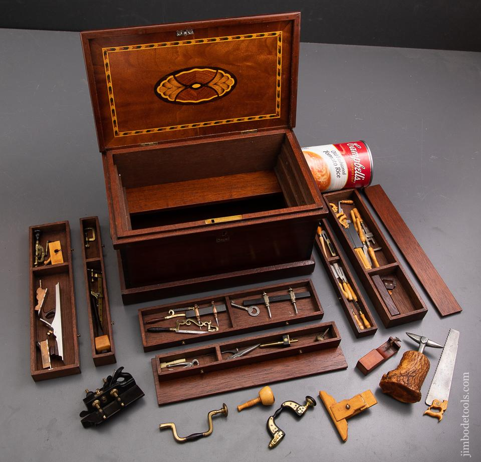 Astonishing 9 inch Miniature Tool Chest Loaded with Tools 1/4 Scale by DAVID BROOKSHAW - 93333U