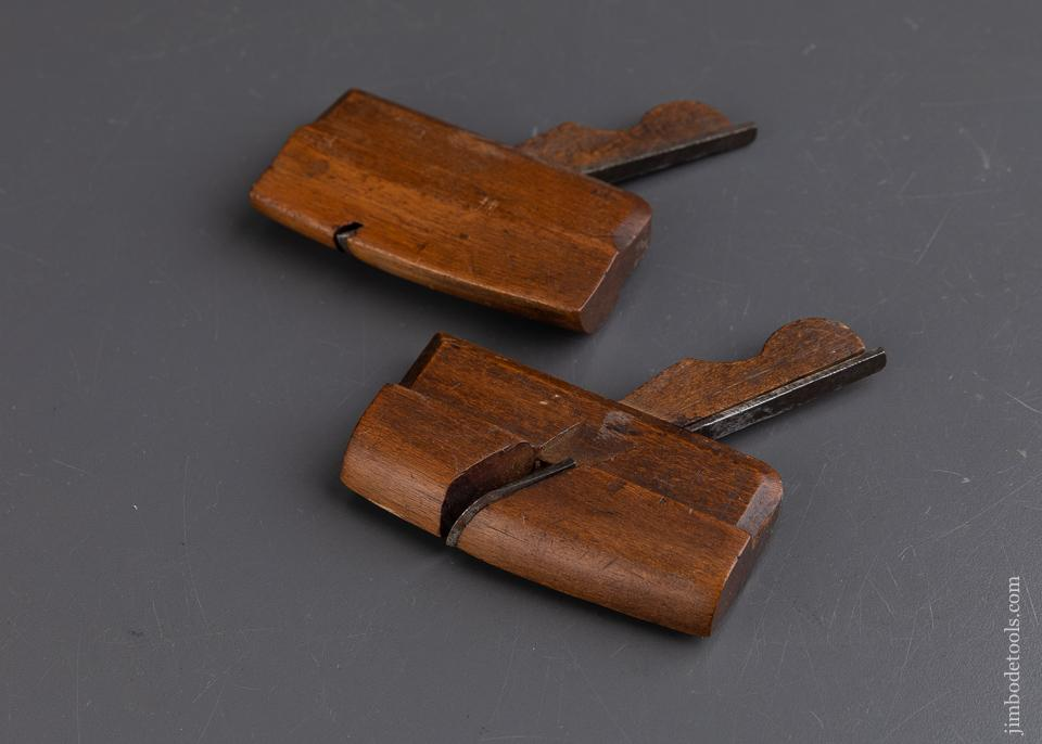 3 1/2 inch Beech Compassed Side Rounds Planes - 93436RR
