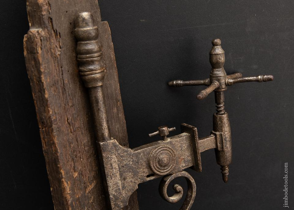 Astounding 17th Century Drill Press - 93456UR