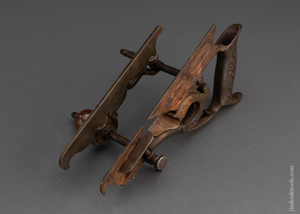 Magnificent MILLERS 1872 PATENT No. 50 Ornate Plow Plane - 93464R