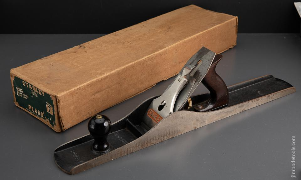 STANLEY No. 7 Jointer Plane MINT in Box - 93487