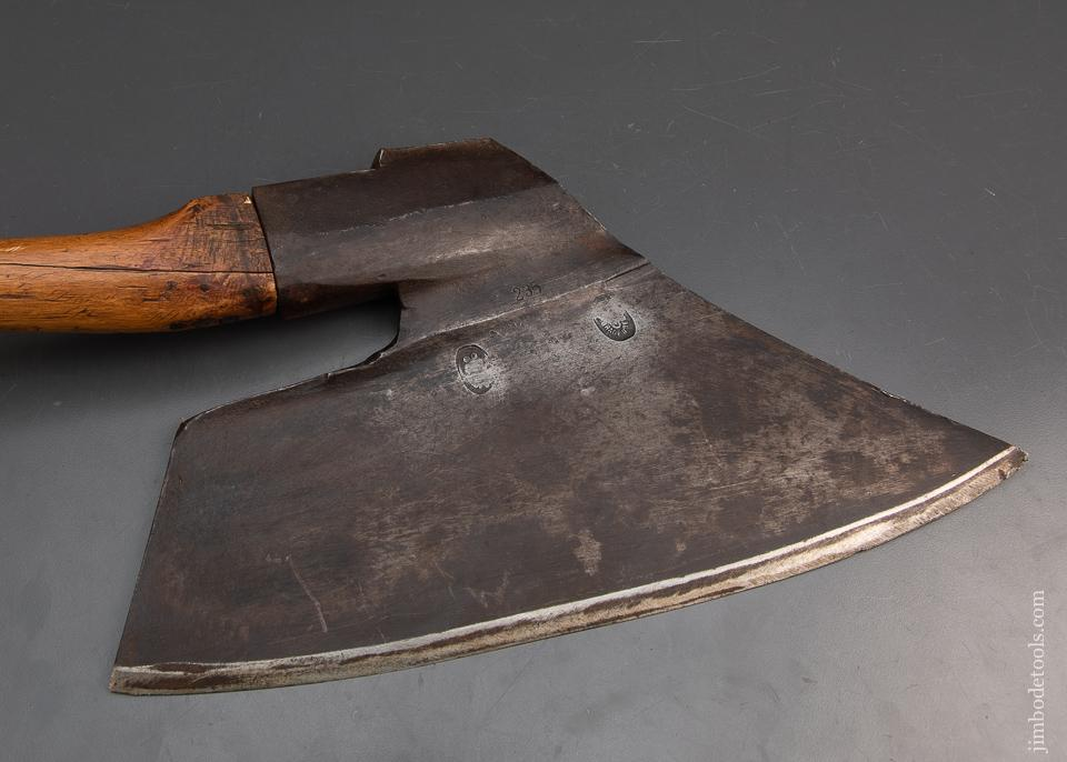 Excellent European Goosewing Axe - 93940