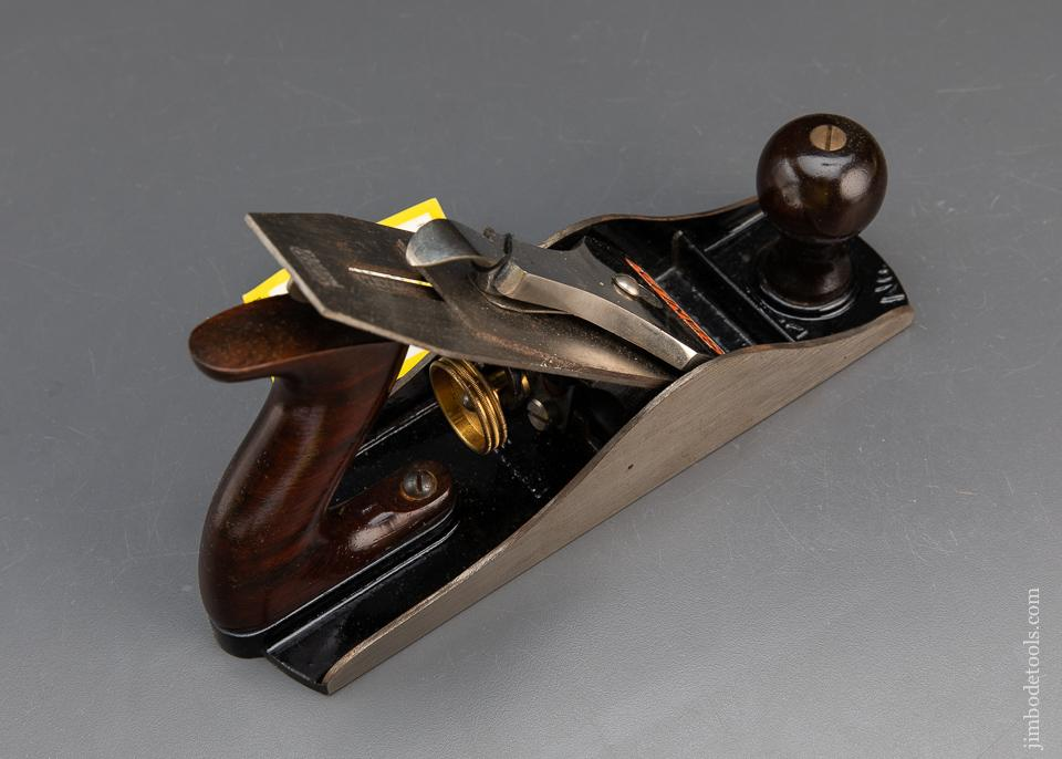 STANLEY No. 4 1/2 Jumbo Smooth Plane with TAG Type 16 circa 1933-41 MINT in Original Box - 93511