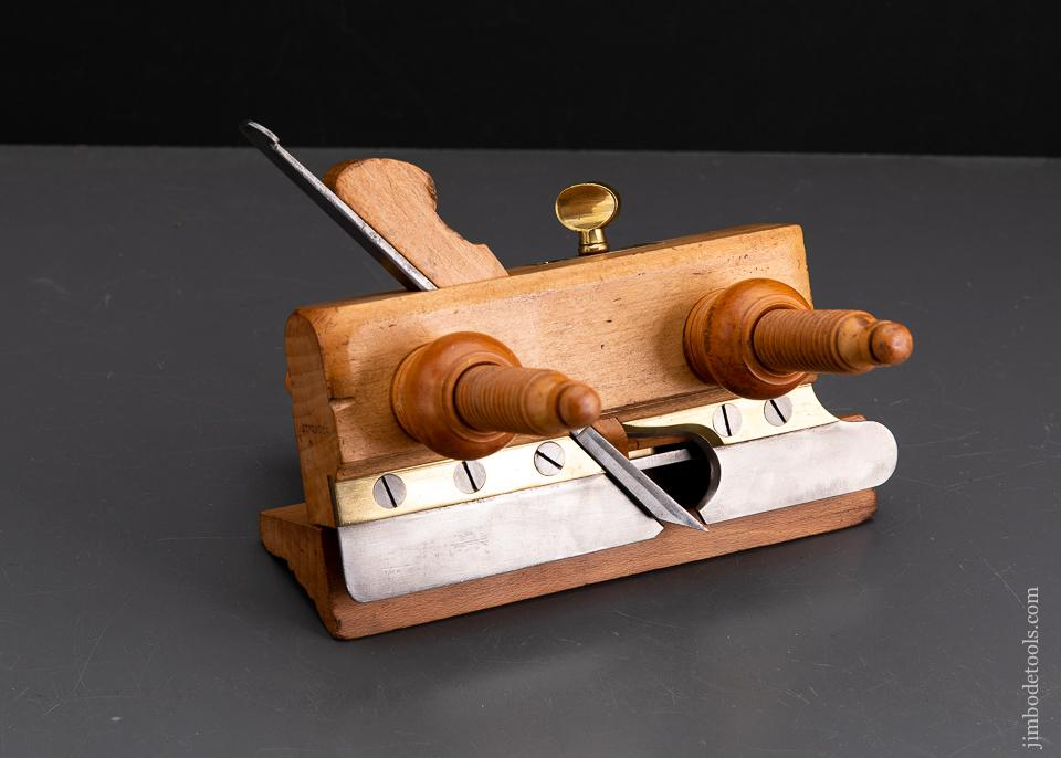 Gorgeous Beech & Boxwood GLEAVE MANCHESTER 1833 Plow Plane - 93649