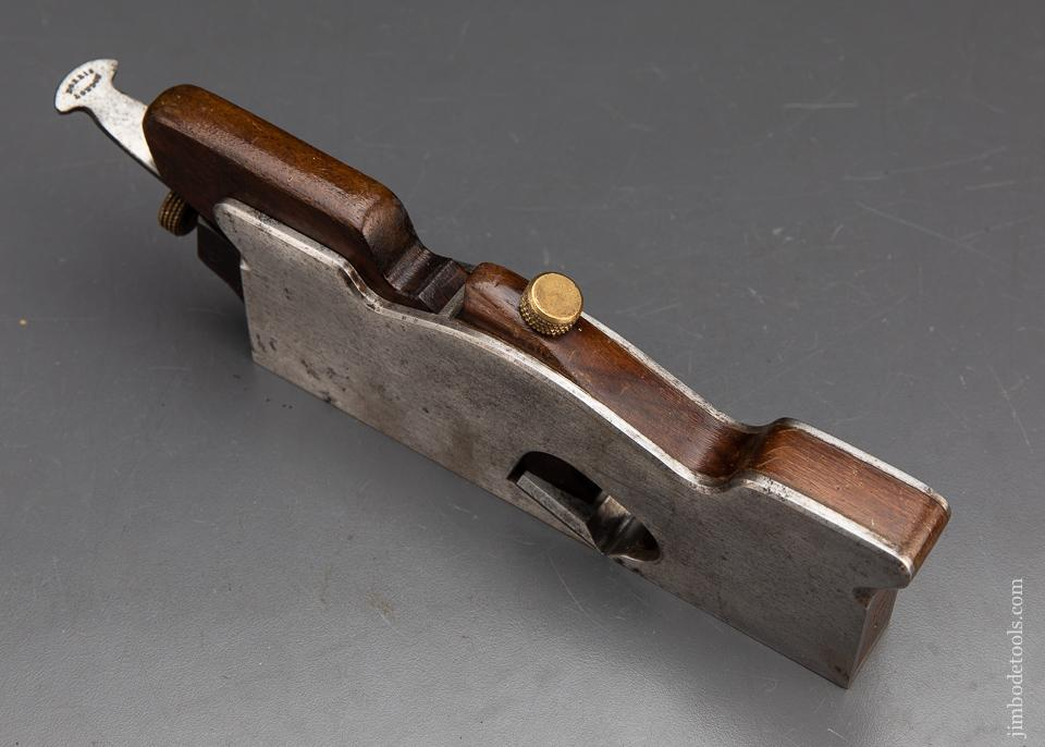 RARE & Fine! NORRIS No. A7 Adjustable Shoulder Plane Dovetailed Steel with Rosewood - 93698