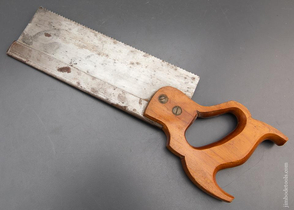 EXTRA FINE 13 point 10 inch Rip DISSTON No. 4 Tenon Saw JUST SHARPENED - 93706