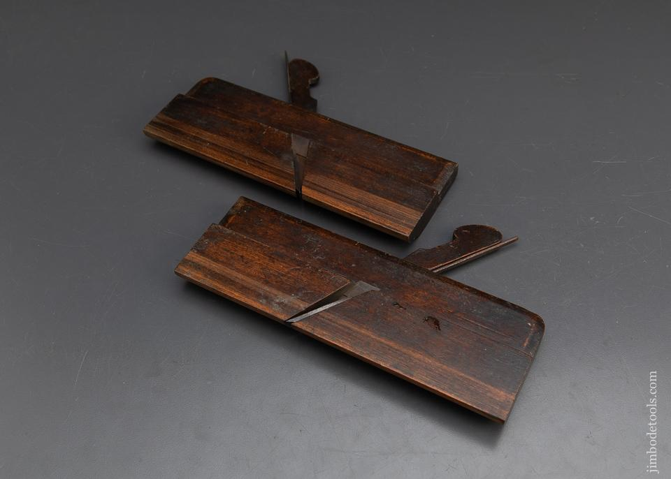 FINE Pair of Side Round Moulding Planes by ARNOLD - 93709
