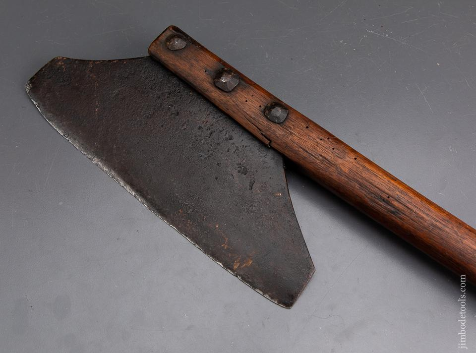 Unusual 18th Century Axe Probably a Cleaver - 93785