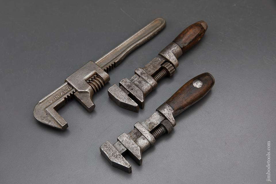 Three Adjustable Wrenches - 93793