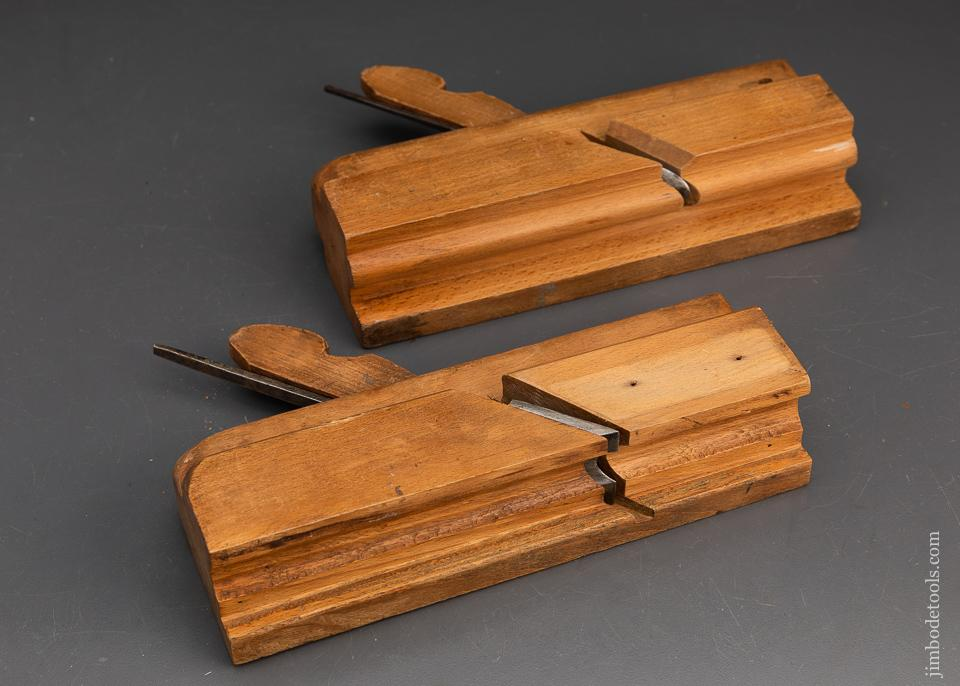 Matched Pair A. MONTY Casement Planes - 93839
