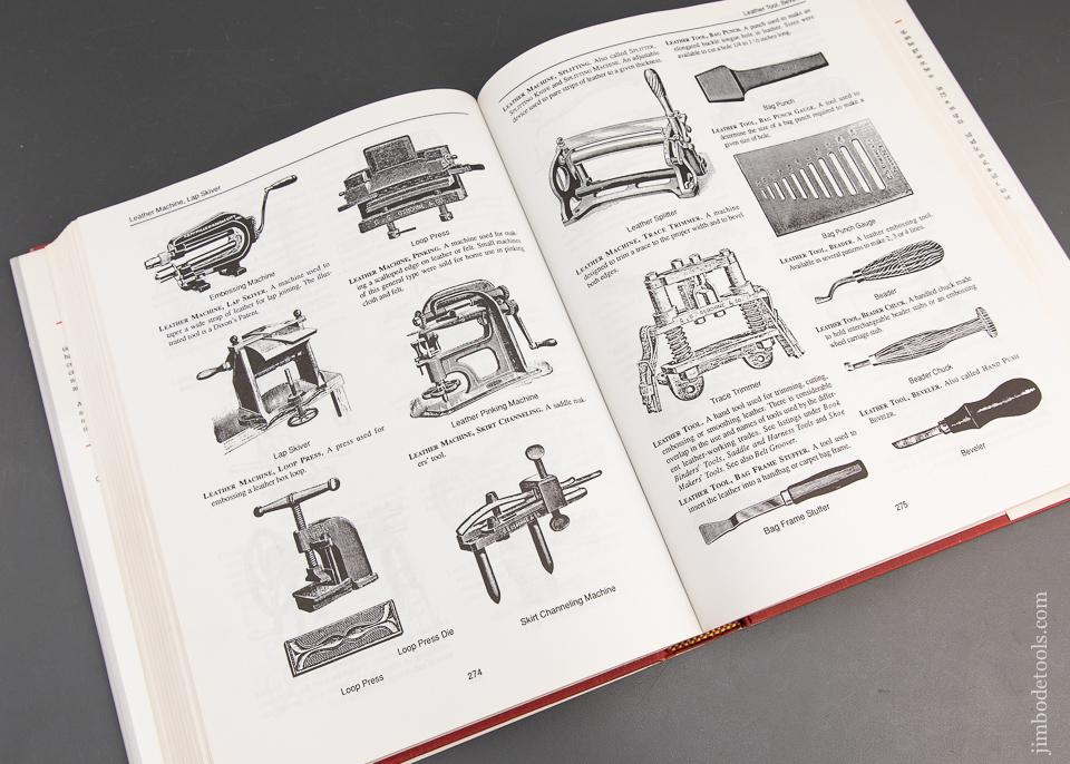 Book:  DICTIONARY OF AMERICAN HAND TOOLS: A PICTORIAL SYNOPSIS Compiled by Alvin Sellens - 93488
