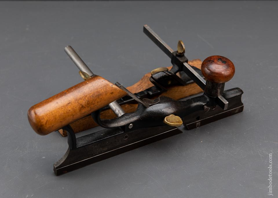Rare! FALES Patent March 7, 1882 Plow Plane - 93907