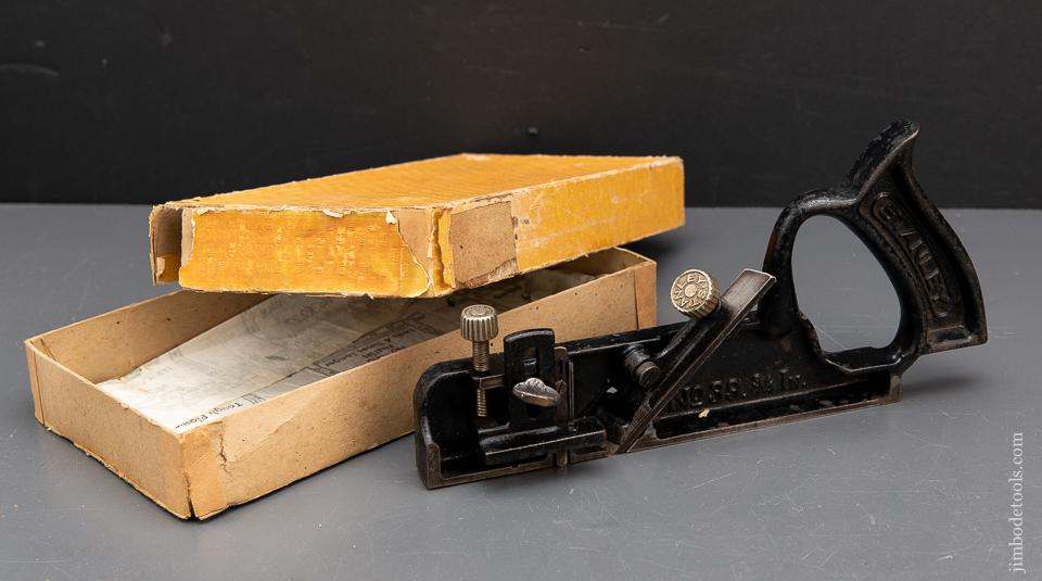 STANLEY No. 39 3/4 Dado Plane MINT in Original Box - 93924