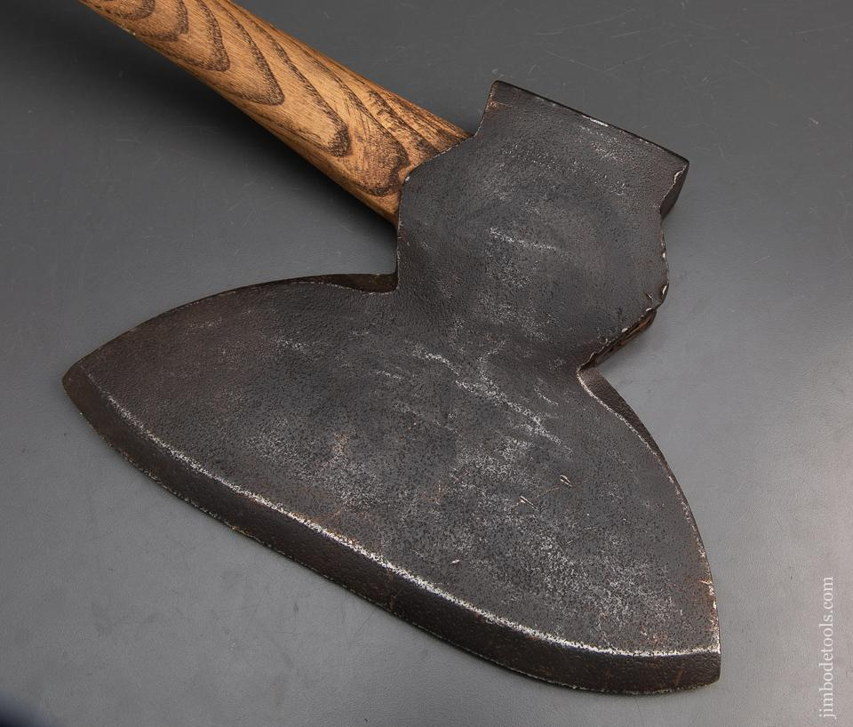 Fine single Bevel Offset broad Axe - 93939