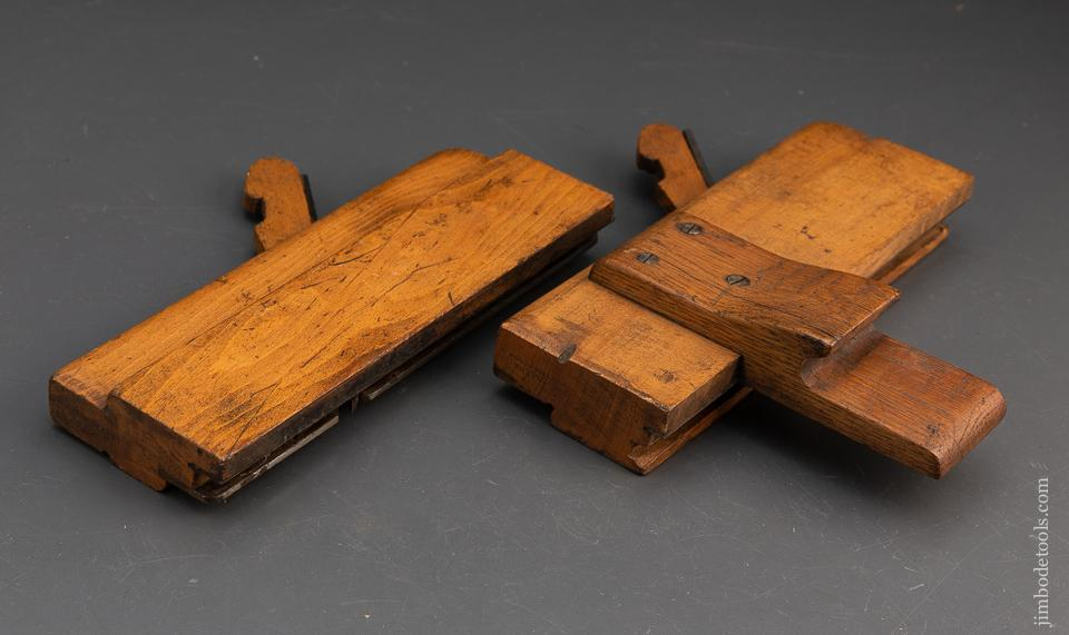Pair of 7/8 inch Tongue & Groove Planes by S. DALPE ROXTON POND P.Q. - 93970
