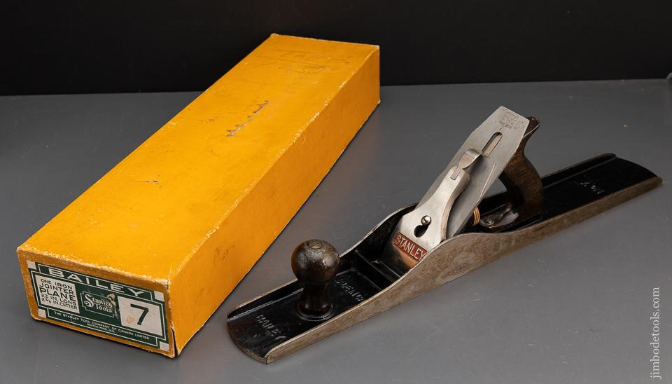 STANLEY No. 7 Jointer Plane MINT in Original Box SWEETHEART - 93980